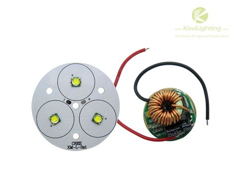 Driver Led Cree 30w 3 cree xml xm l xm l2 led emitter white 6500k light