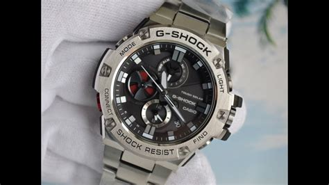 Casio G Shock Gst S110g 1a casio g shock g steel bluetooth gst b100d 1a
