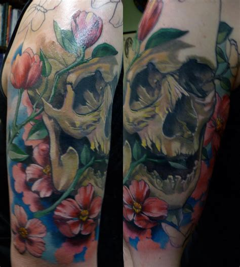 tattoos in seattle damon conklin genius seattle wa color