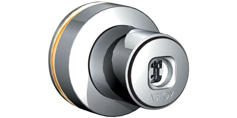push button cabinet lock for glass doors of431 abloy oy
