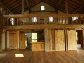 Open Loft House Plans Cola Barn Home Conversion