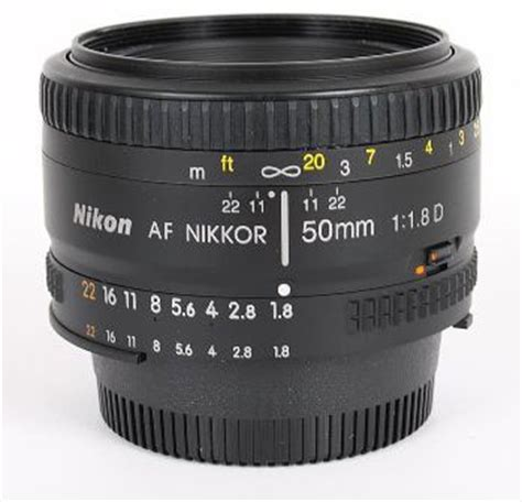 Jual Lensa Nikon Afd 50mm F1 8 nikkor nikon 50mm f 1 8d af prime lens review the nifty