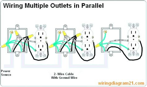 electrical outlet wiring diagram simple 39 wiring