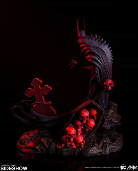 dc comics batman red rain statue  mondo sideshow