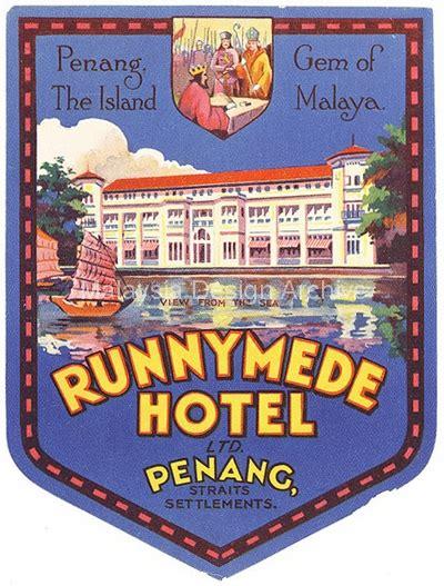 label design malaysia malaysia design archive luggage label runnymede hotel