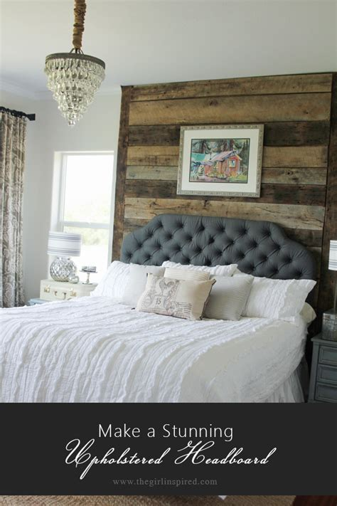 How To Make Upholstered Headboards how to make an upholstered headboard inspired