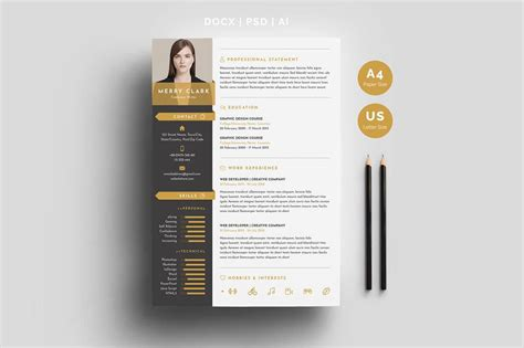 unique resumes templates unique resume templates 15 downloadable templates to use now