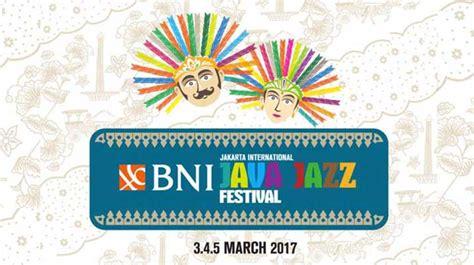 Java Jazz Festival 2017 java jazz festival 2017 umumkan daftar artis penil