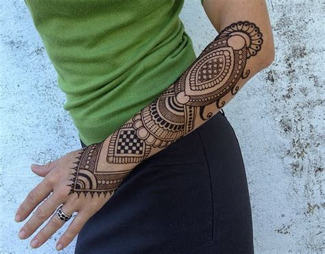 henna sleeve tattoo henna tattoos ideas and arm for henna