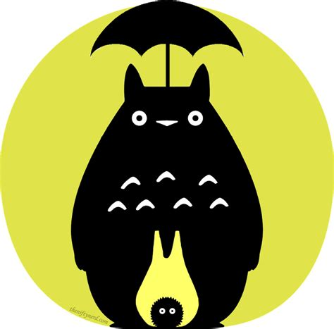geeky pumpkin carving templates for halloween totoro by