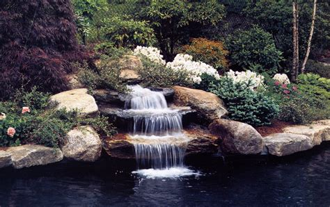 small waterfalls backyard small waterfall garden ponds pinterest