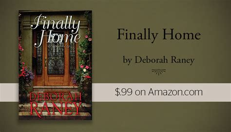 finally home by deborah raney 99 on ckn