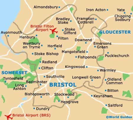 bristol map maps of bristol of bristol map of bristol