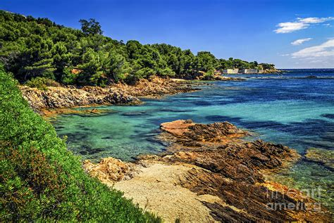 Duvet In French Mediterranean Coast Of French Riviera Photograph By Elena