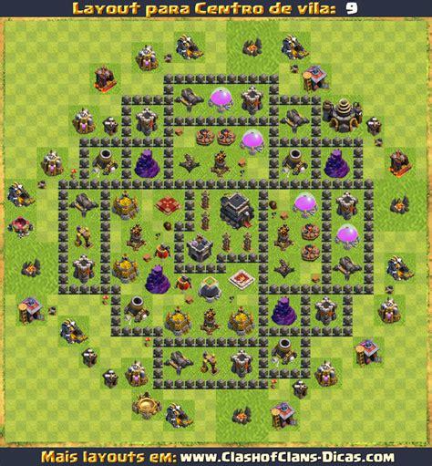 layout atualizado cv 9 layouts para cv9 em clash of clans atualizados clash