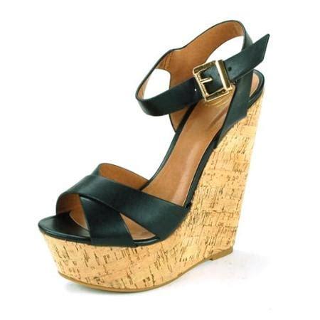 cork high heels buy womens platform wedge shoes strappy cork high heels