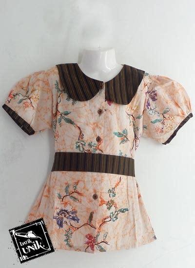 Batik Serambit Lengan Pendek Katun Primis baju batik sarimbit keluarga katun primis motif bunga lurik obral batik murah batikunik