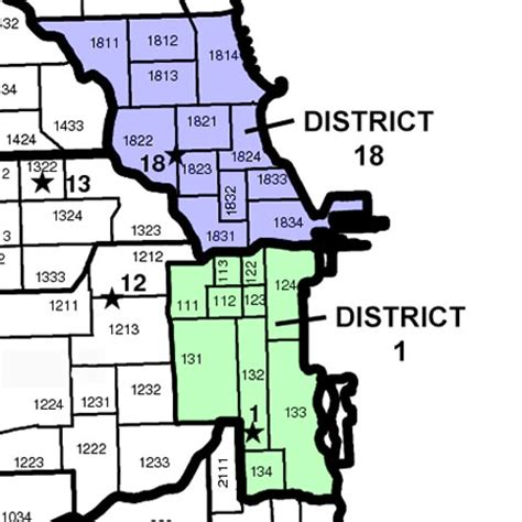 chicago district map loop near among to get worn