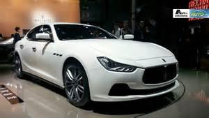 Maserati Ghibli Stats Maserati Ghibli Statistics From Auto Shanghai 2013