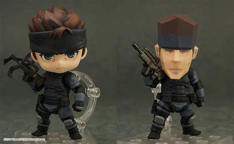 Dpk093 Nendoroid Metal Gear Soloid Solid Snake summer wonfest 2014 solid snake nendoroid gets blocky
