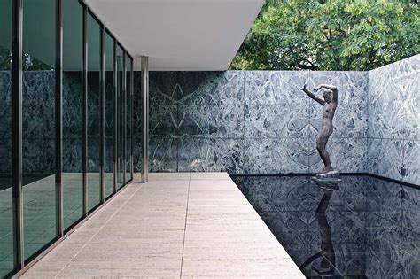 Pavillon Mies Der Rohe by 36 German Pavilion Ludwig Mies Der Rohe