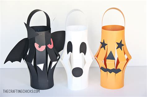 Paper O Lantern Craft - paper lanterns kid craft the crafting
