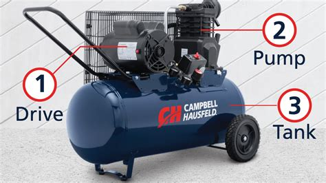 how does an air compressor work
