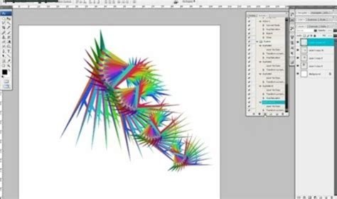 label design photoshop tutorial actions to impressive abstract designs photoshop tutorial