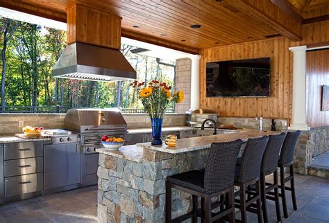 outdoor kitchens fireplaces furniture