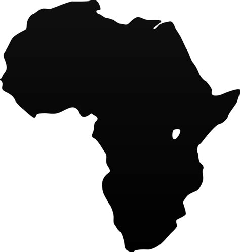 africa map vector png free vector graphic africa map of the world world
