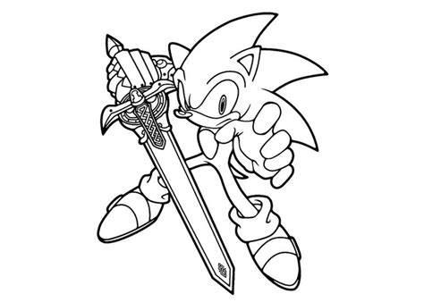 free coloring pages of sonic vs silver vs shadow