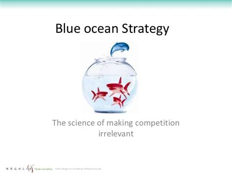 blue strategy the competition irrelevant blue strategy competition irrelevant part 1