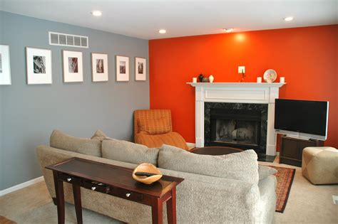 orange livingroom grey orange living room mine pinterest orange