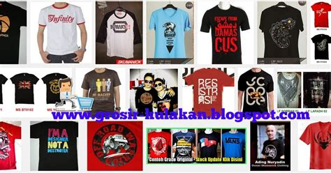 Grosir Supplier Kaos Distro supplier kaos