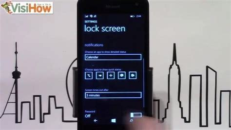 pattern screen lock for lumia 535 add viber notifications to the lock screen on microsoft