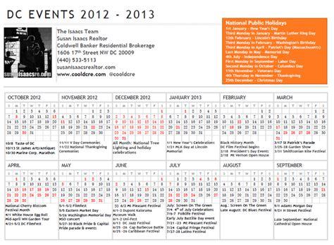 Dc Event Calendar Calendar Of Events Washington Dc Myideasbedroom
