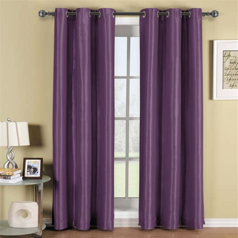 purple brown curtains plush dark purple curtains designs decofurnish