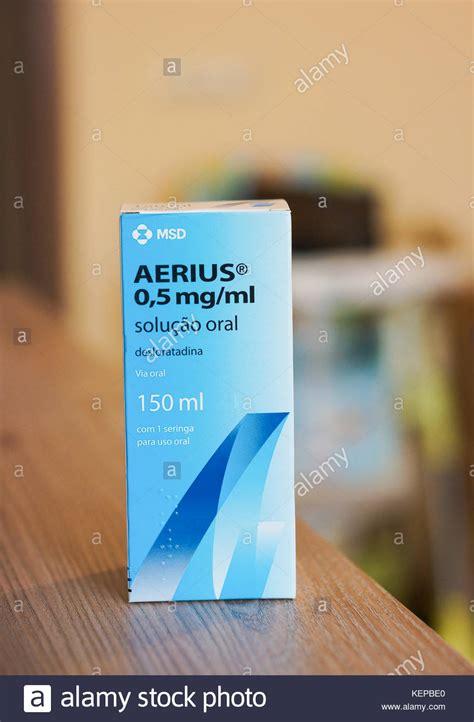 Aerius Syrup aerius stockfotos aerius bilder alamy
