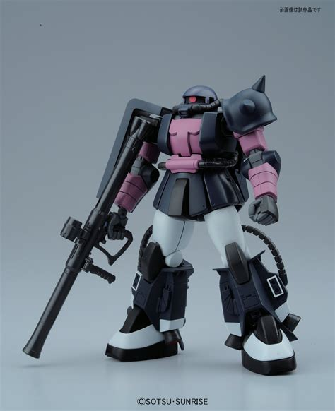 Hg Hguc 1144 Ms 06r Zaku Ii Black Tri Ver hguc ms 06r 1a zaku ii black tri official photoreview large images info 13