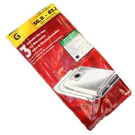 G Bag 3 shop vac g vacuum bags 3 pack sv 90663