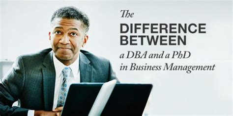 Difference Between Mba And Masters In Finance by The Difference Between A Dba And A Phd In Business