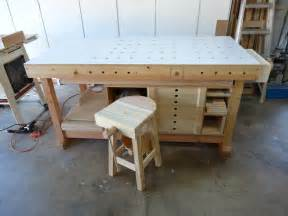How To Build A Pallet Bench Flair Woodworks Shop Stool Build Off Trevor S Workshop