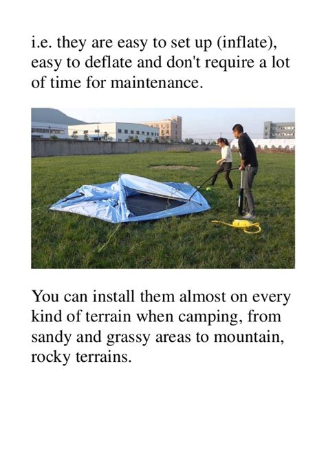rocky mount tent and awning why you should use the inflatable tents when cing