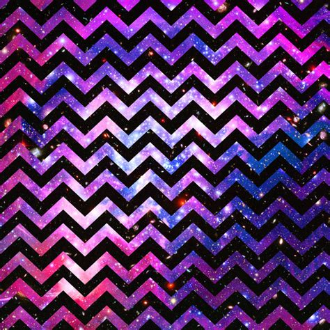 Cute Chevron Pattern | girly chevron pattern cute pink teal nebula galaxy art