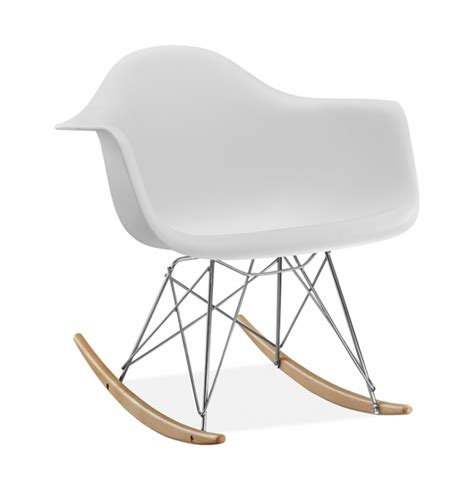 chaise à bascule eames chaise 224 bascule rar style eames secret design