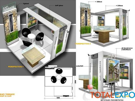 desain layout pameran design stand dekorasi stand interior stand desain