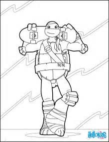 dibujos para colorear tortugas ninja es hellokids com