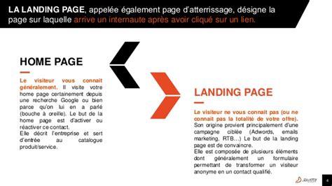 home page la partnership la landing page les bonnes pratiques