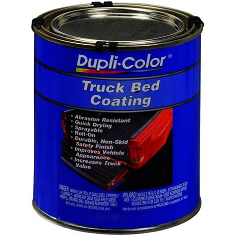 colored bed liner paint dupli color trg252 truck bed coating gallon ebay