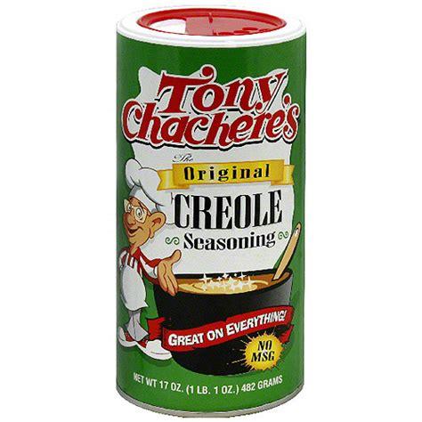 tony chachere s original creole seasoning 17 oz pack of